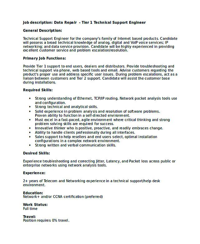 technical support engineer resume good teachers format writing is not that easy when it Resume Technical Support Representative Resume