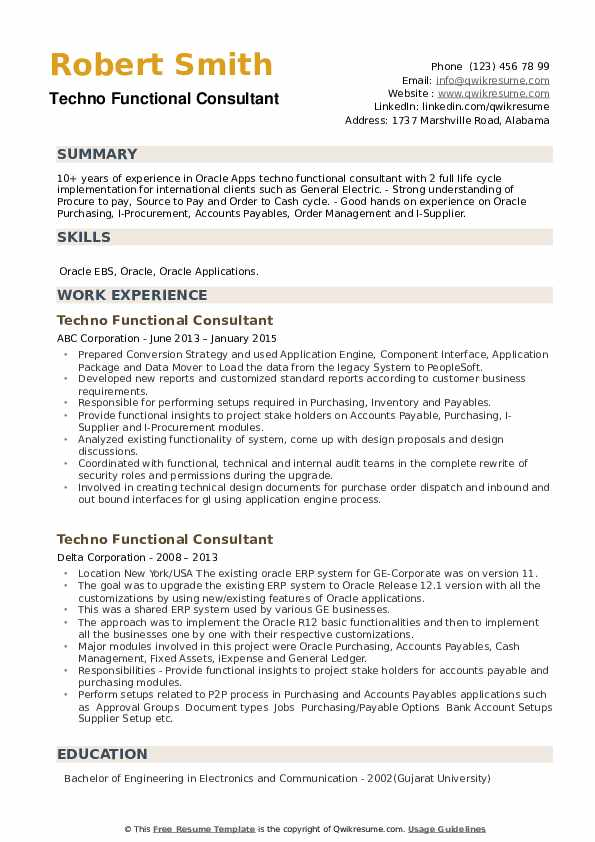 techno functional consultant resume samples qwikresume microsoft dynamics pdf format for Resume Microsoft Dynamics Consultant Resume
