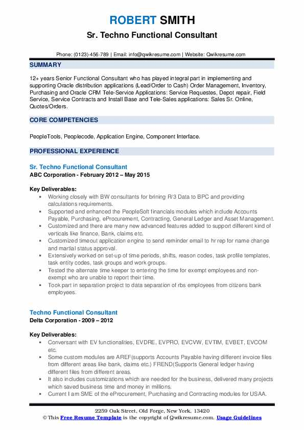 techno functional consultant resume samples qwikresume sample pdf political science Resume Techno Functional Consultant Resume Sample