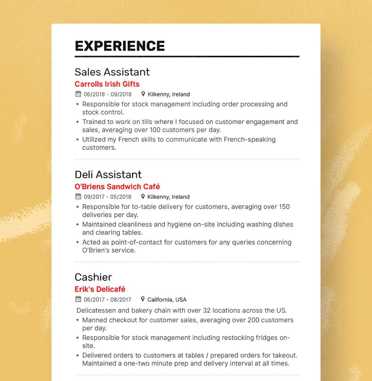 the best fresher resume formats and samples standard format for freshers hannah Resume Standard Resume Format For Freshers
