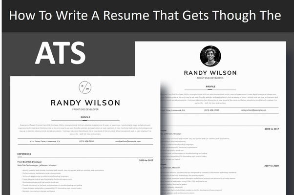 the best layout resume or cv for applicant tracking systems ats quora system friendly Resume Applicant Tracking System Friendly Resume