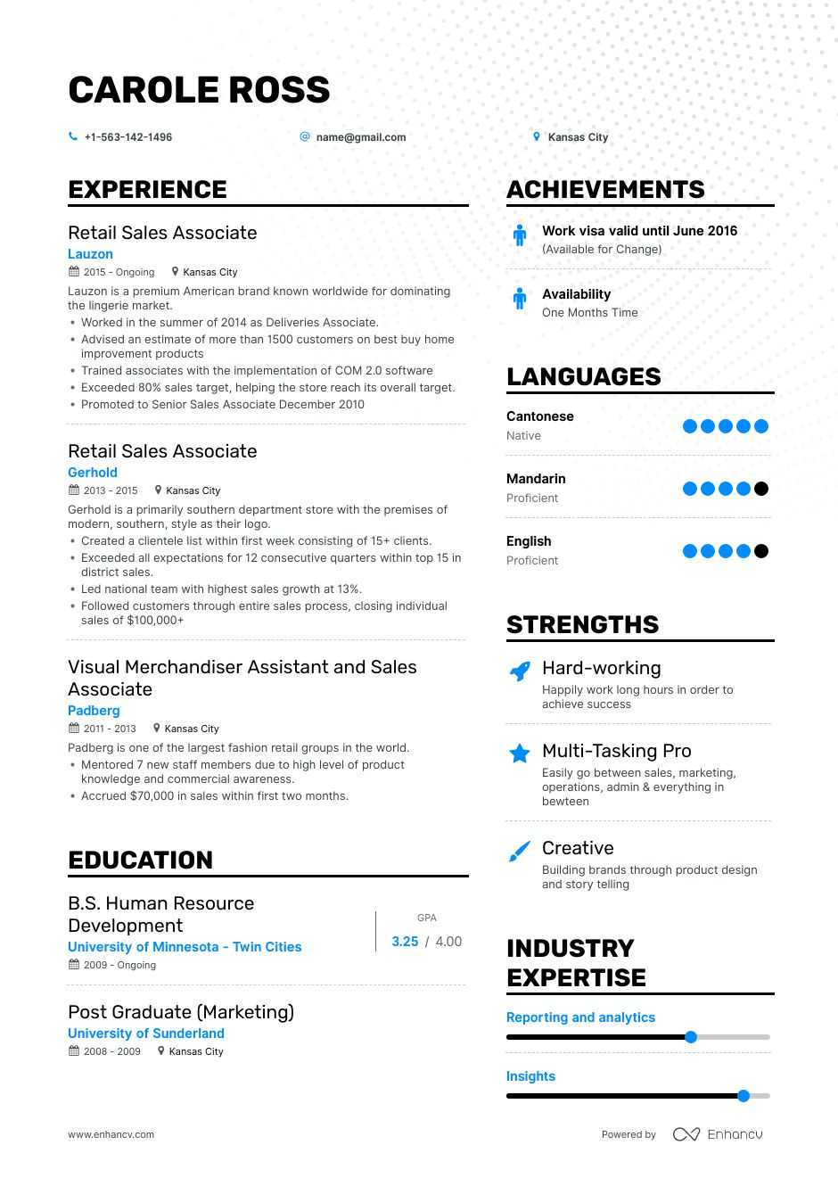the best retail associate resume examples skills to get you hired fashion sample free Resume Fashion Retail Resume Sample