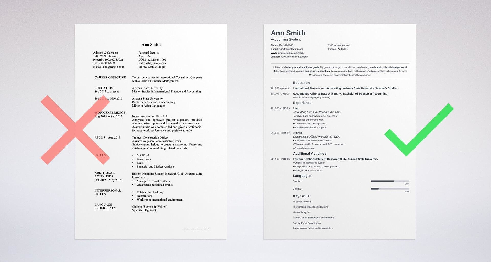 the difference between cv vs resume explained one or two builder sample for education Resume One Page Or Two Page Resume