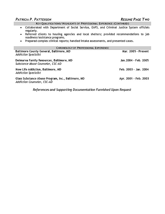 therapist counselor resume example substance abuse templates sample exmed12b background Resume Substance Abuse Counselor Resume Templates
