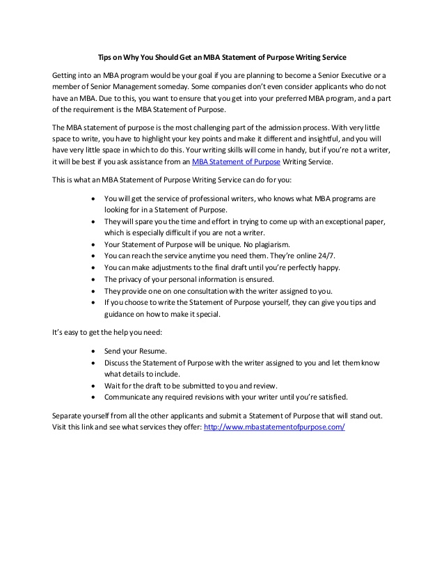 tips on you should get an mba statement of purpose writing service resume with government Resume Resume With Statement Of Purpose