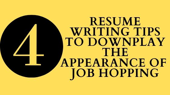tips to downplay the appearance of job hopping on your resume hopper template Resume Job Hopper Resume Template