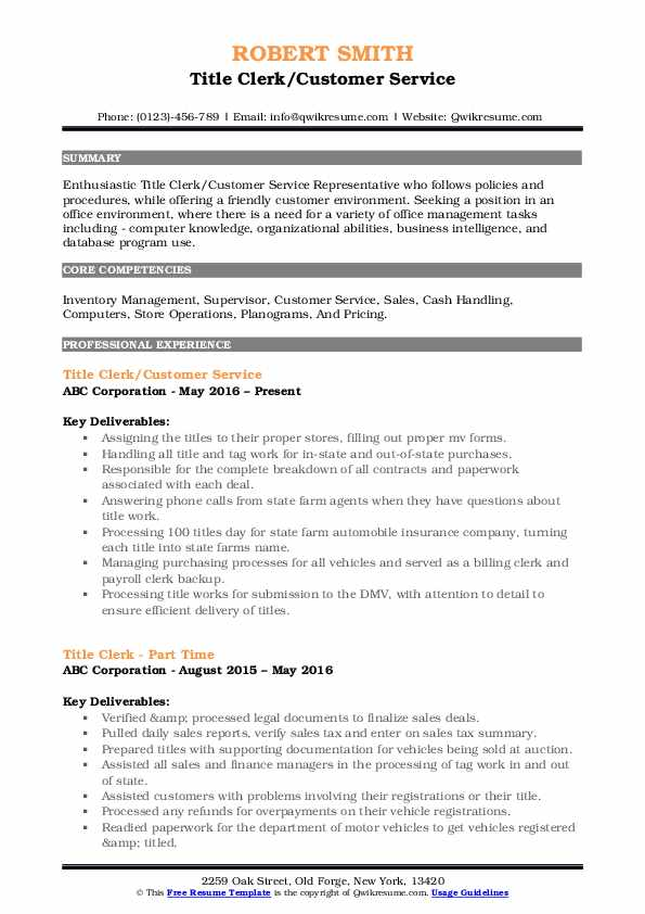 title clerk resume samples qwikresume auto sample pdf assistant manager duties doctor law Resume Auto Title Clerk Resume Sample