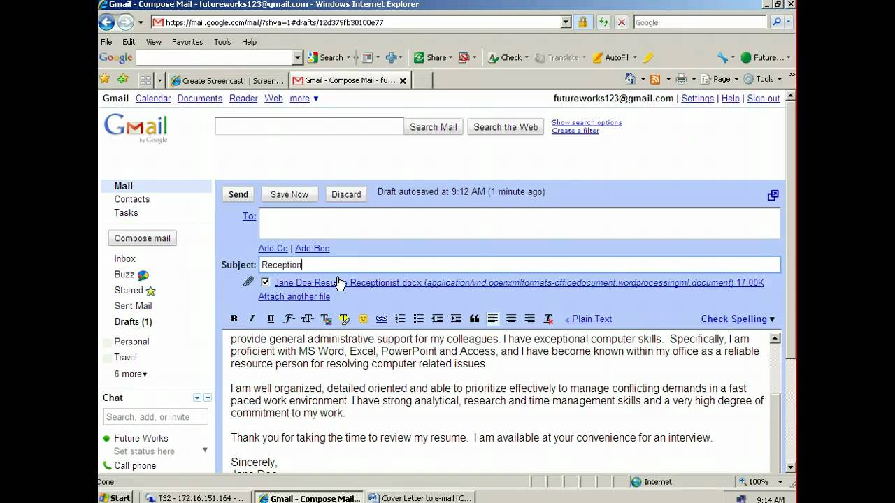to attach and email resume draft for sending judicial externship on hire professional Resume Draft For Sending Resume