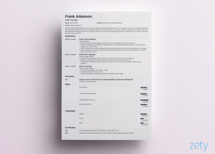 to include in cv must have sections put on important of resume nanica riverdale saison Resume Important Sections Of A Resume