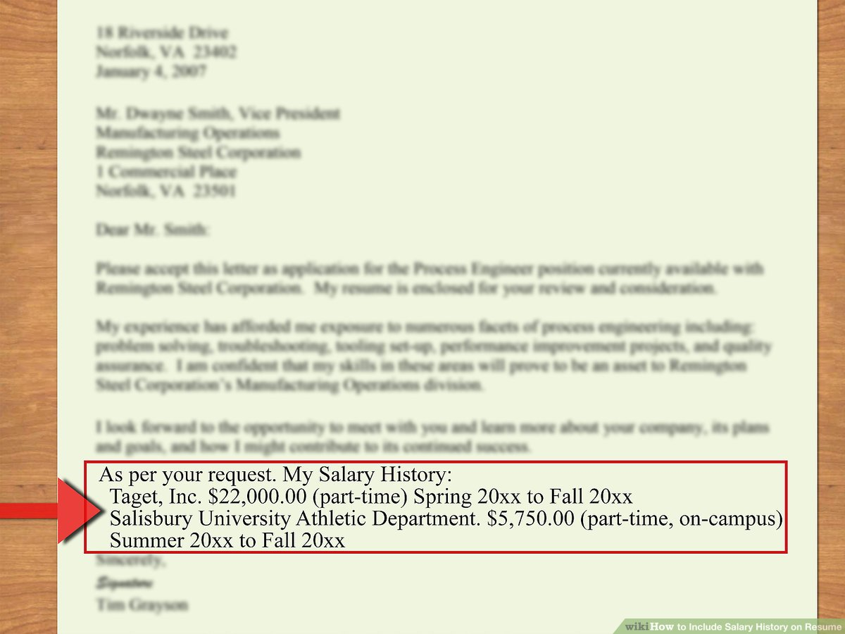 to include salary history on resume steps with pictures requirements example aid1699572 Resume Resume Salary Requirements Example