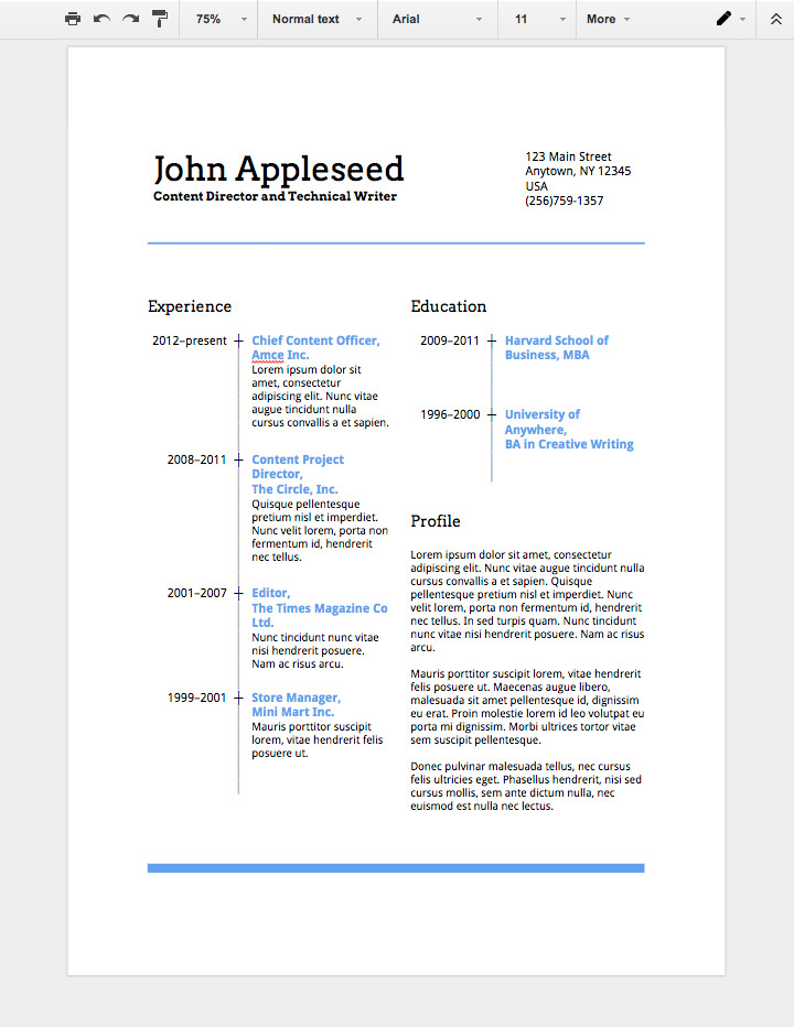 to make professional resume in google docs sheets template on with salary history teacher Resume Google Sheets Resume Template
