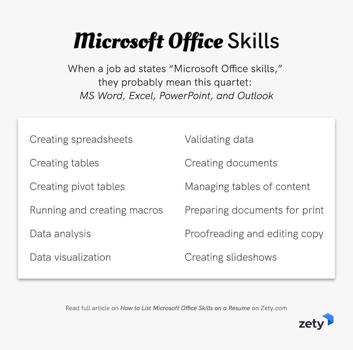 to microsoft office skills on resume in skill summary template with linkedin link nursing Resume Microsoft Office Resume