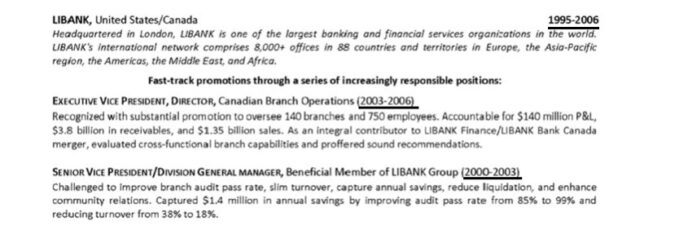 to properly promotions certifications on resume with within the same company libank Resume Resume With Promotions Within The Same Company
