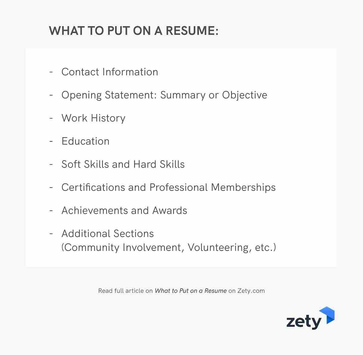 to put on resume good things you should include hvac job description sailing example esl Resume Should A Resume Include A Picture