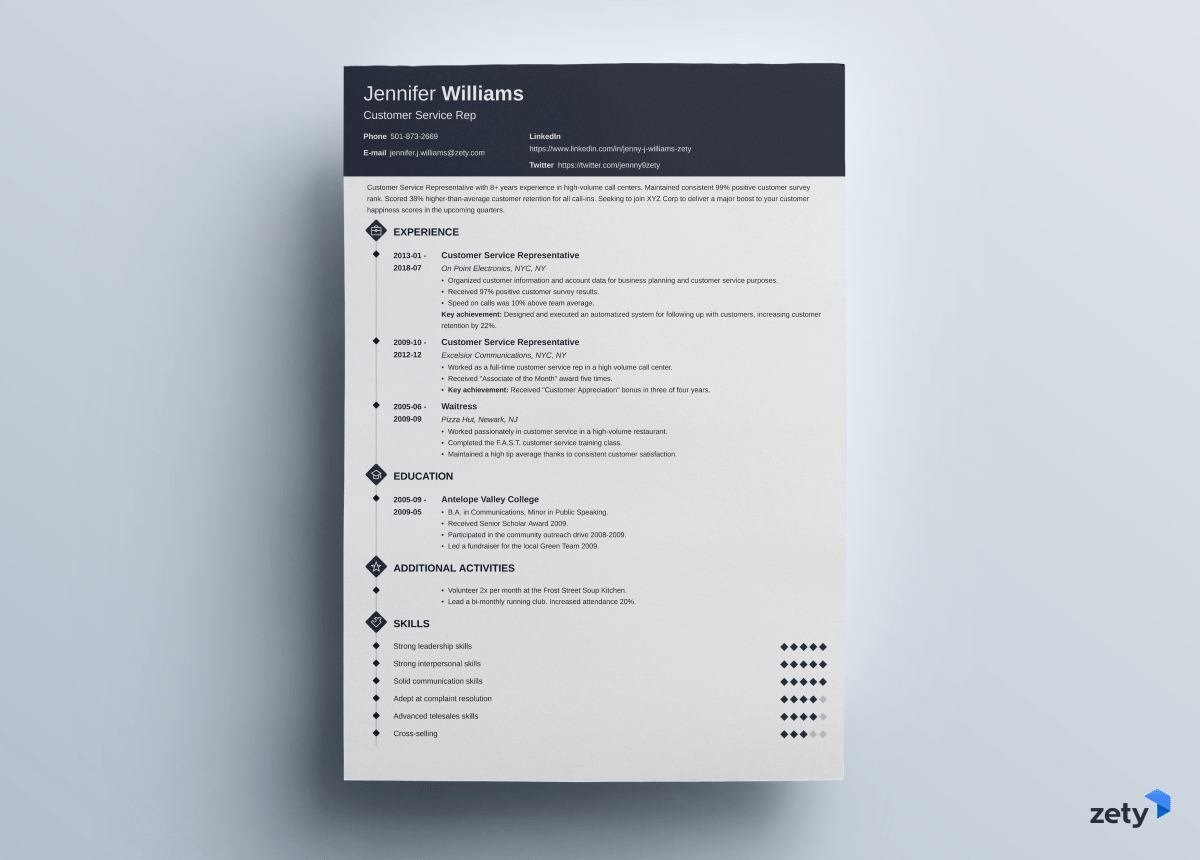 to put on resume good things you should include your zety diamond objectives for software Resume Should You Put Your Picture On Your Resume 2018