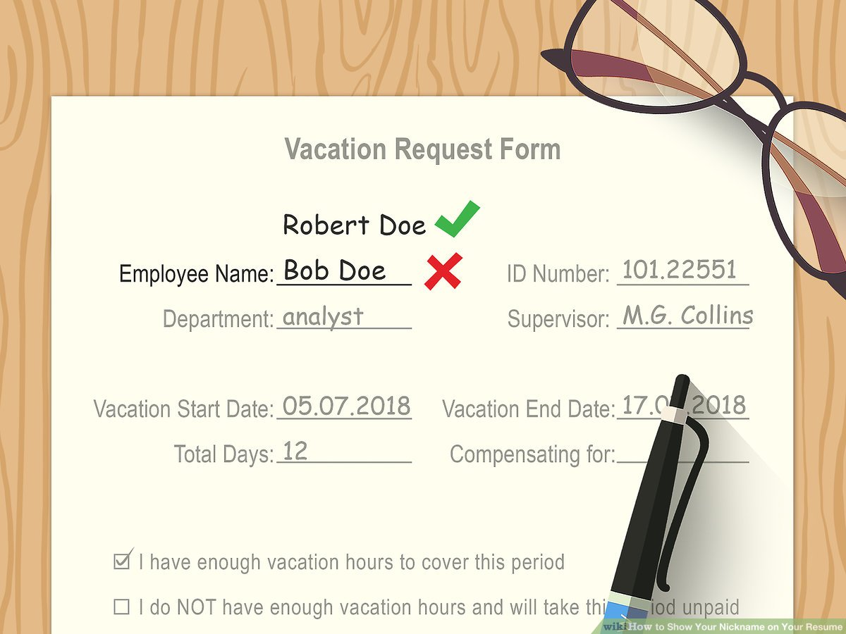 to show your nickname on resume steps with pictures should you put aid9933749 v4 1200px Resume Should You Put Your Picture On Your Resume 2018