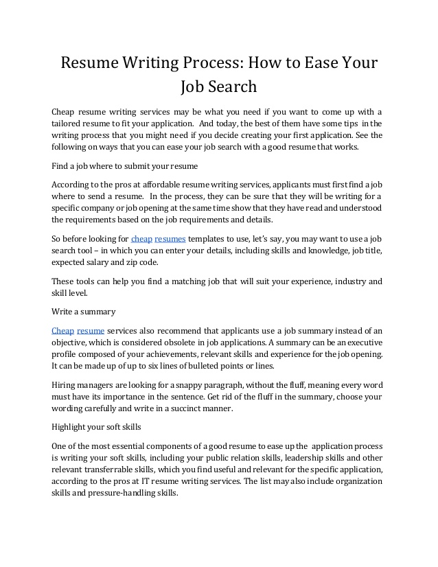 to write good resume that get noticed best affordable writing services make own free Resume Best Affordable Resume Writing Services