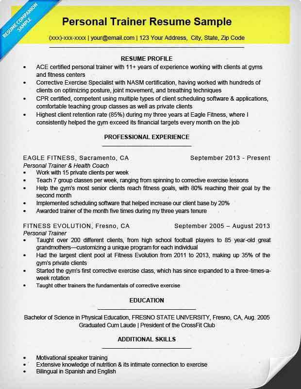 to write resume for all types of jobs companion important sections contact info Resume Important Sections Of A Resume