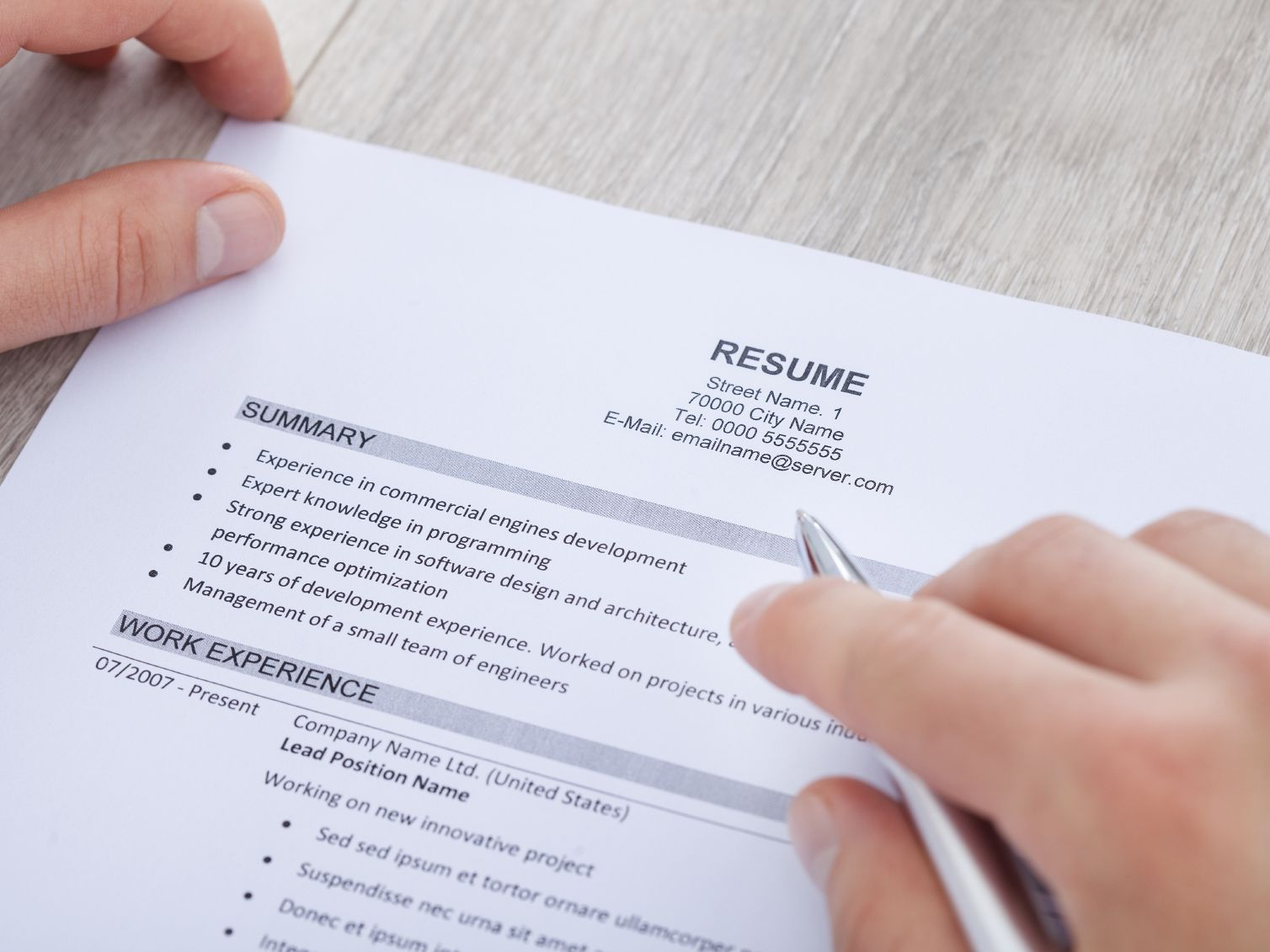 to write resume summary statement with examples drafting services 000033354382medium Resume Resume Drafting Services