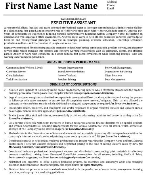 top administrative resume templates samples executive admin examples adm assistant sample Resume Executive Admin Resume Examples