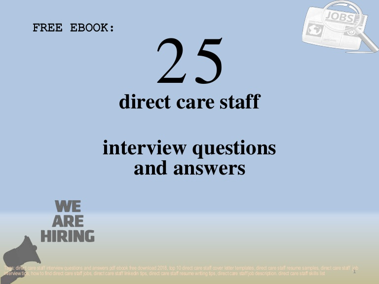 top direct care staff interview questions and answers pdf ebook fr job description for Resume Direct Care Staff Job Description For Resume