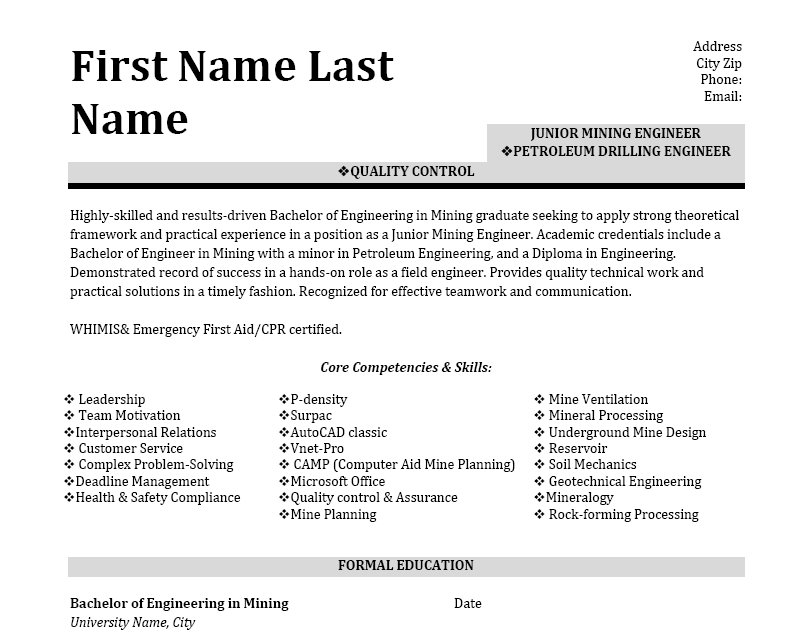 top engineer resume samples objective for fresh graduate keywords call center research Resume Resume Objective For Fresh Graduate Petroleum Engineer