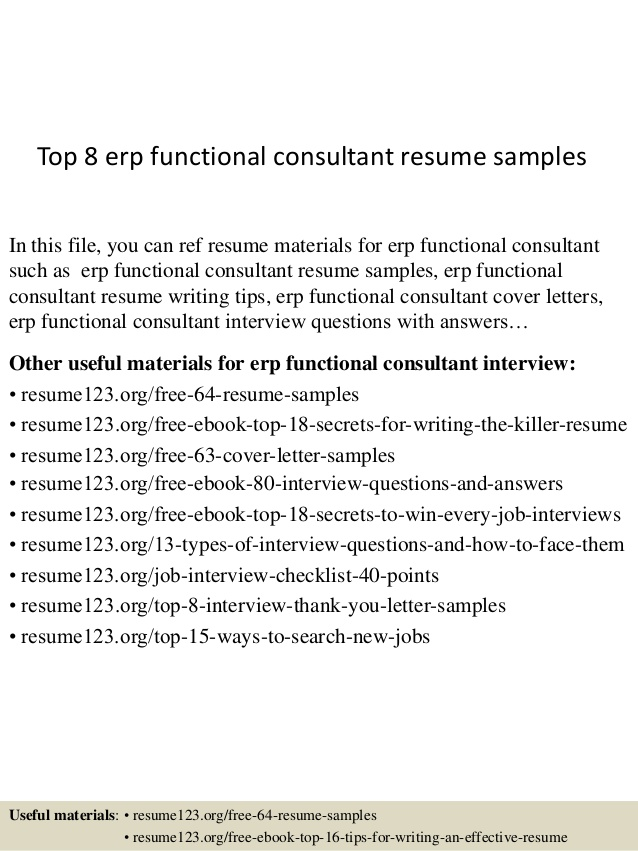 top erp functional consultant resume samples techno sample cna qualifications fashion Resume Techno Functional Consultant Resume Sample