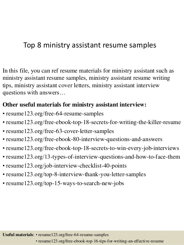 top ministry assistant resume samples objective examples business banking relationship Resume Ministry Objective Resume Examples