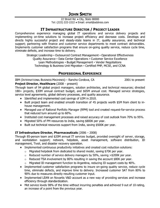top project management resume templates samples healthcare manager pm executive it Resume Healthcare Project Manager Resume