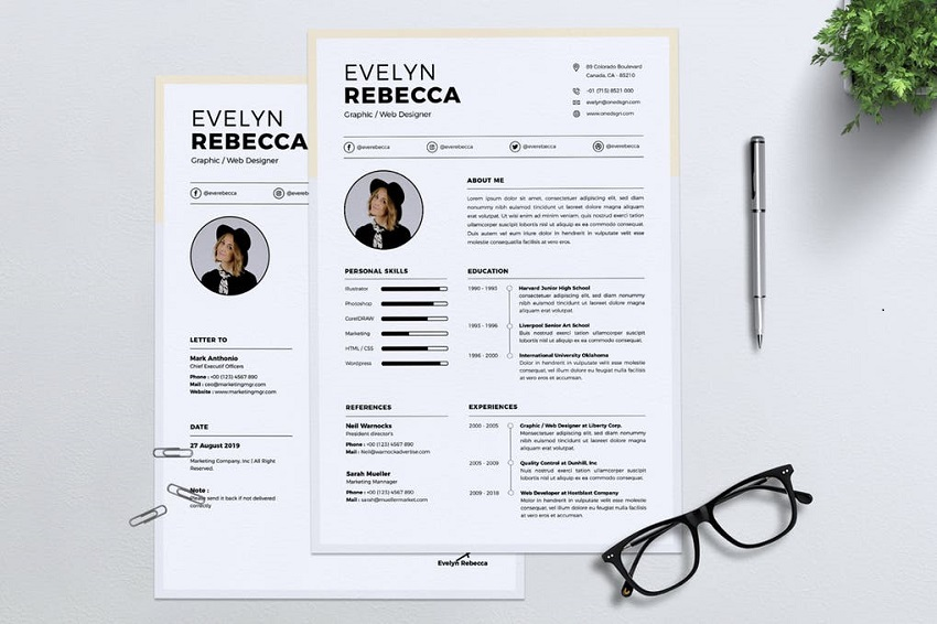 top resume mistakes with good vs examples effective format 21image from elements genius Resume Effective Resume Format