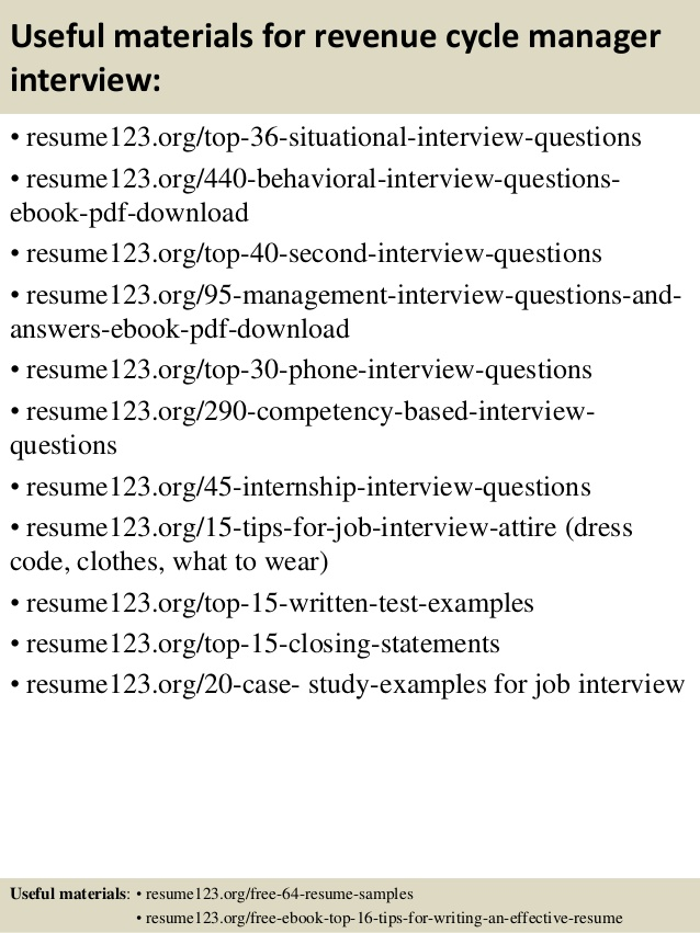 top revenue cycle manager resume samples student functional environmental chemist Resume Revenue Cycle Manager Resume