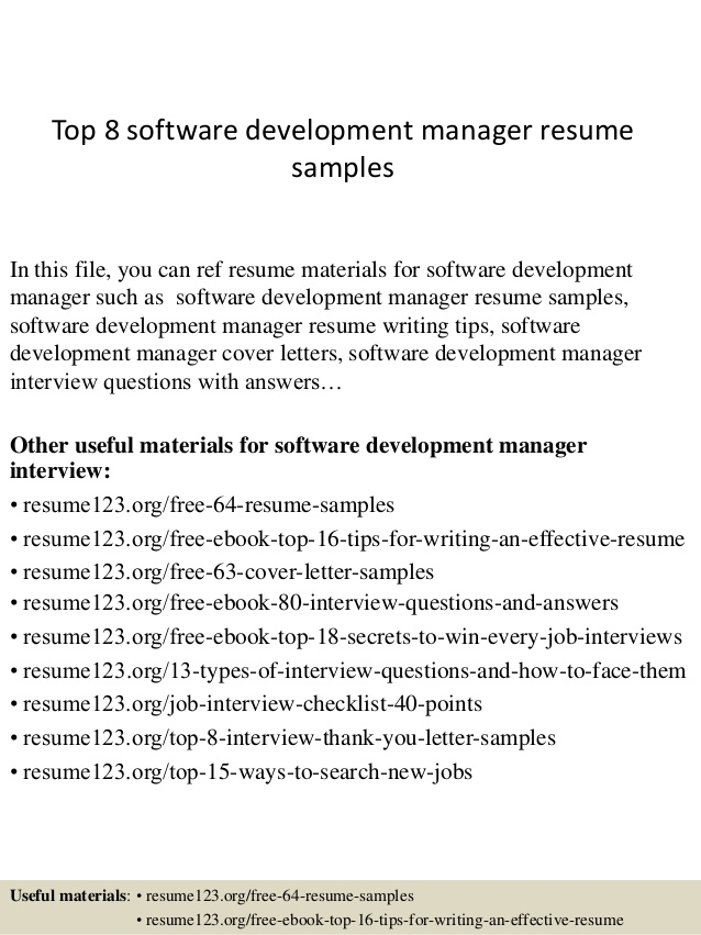 top software development manager resume samples summary html5 sample paraprofessional Resume Software Development Manager Resume Summary