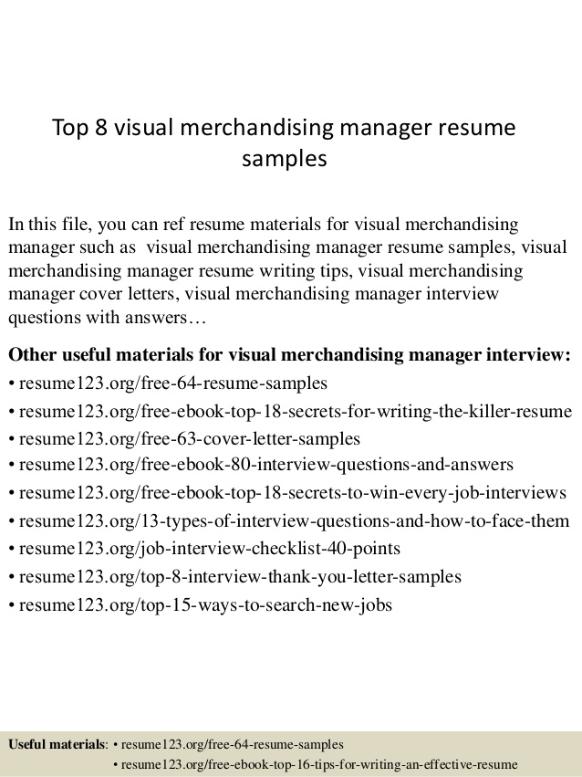 top visual merchandising manager resume samples fashion sample for ex airmen airline Resume Fashion Merchandising Resume