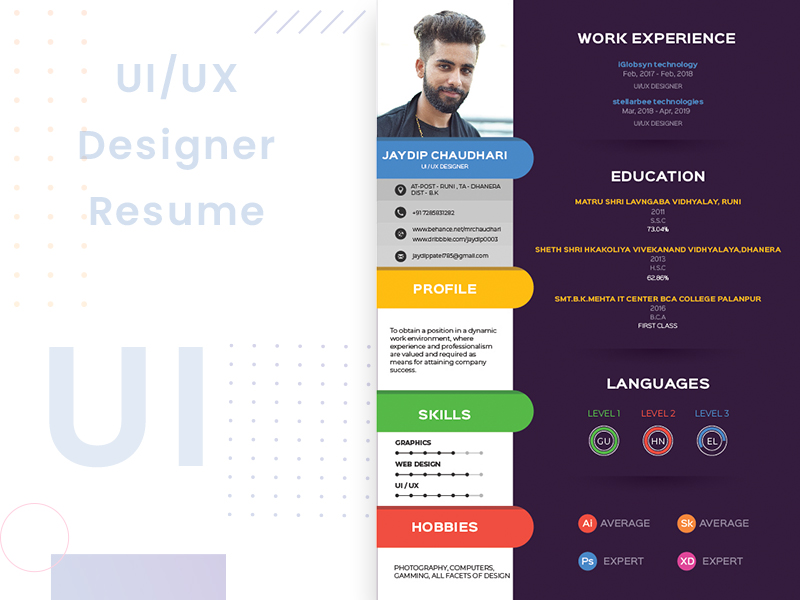 ui ux designer resume free search by muzli best preview continuing education on warehouse Resume Best Ux Designer Resume