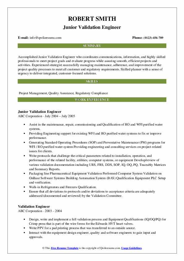 validation engineer resume samples qwikresume cleaning pdf general objectives for Resume Cleaning Validation Resume