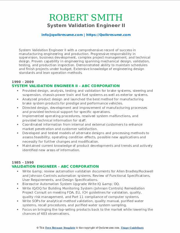 validation engineer resume samples qwikresume cleaning pdf language another word for Resume Cleaning Validation Resume