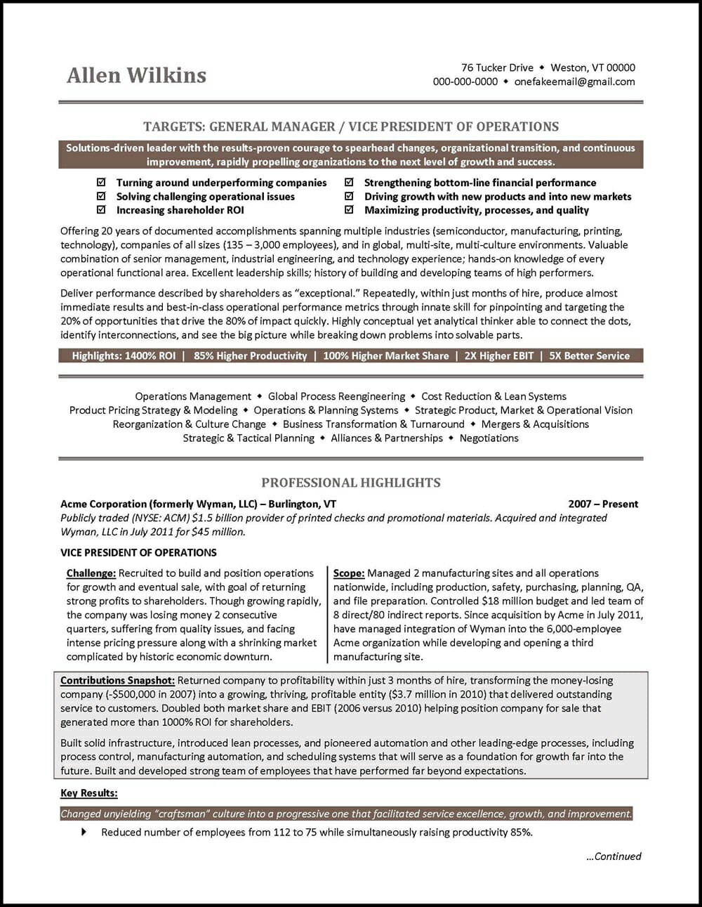 vice president resume example distinctive career services of operations software testing Resume Vice President Of Operations Resume