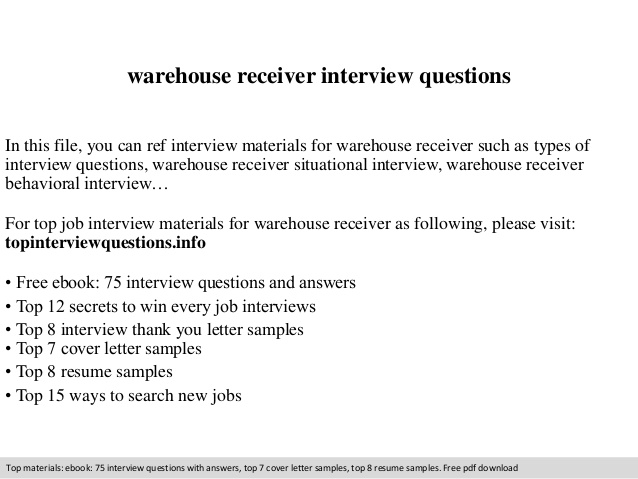 warehouse receiver interview questions shipper resume sample research assistant duties Resume Shipper Receiver Resume Sample