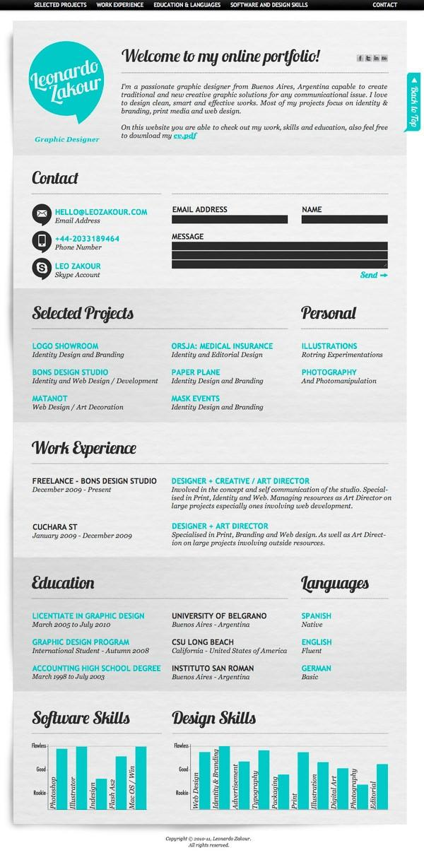 ways to make your social media resume look awesome wordstream digital manager creative Resume Digital Media Manager Resume