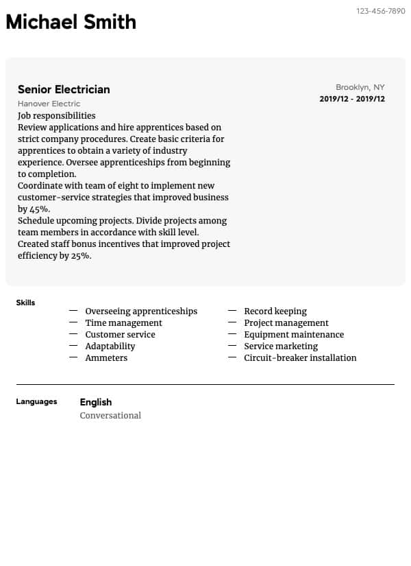 welder resume samples all experience levels entry level welding electrician thumbnail Resume Entry Level Welding Resume