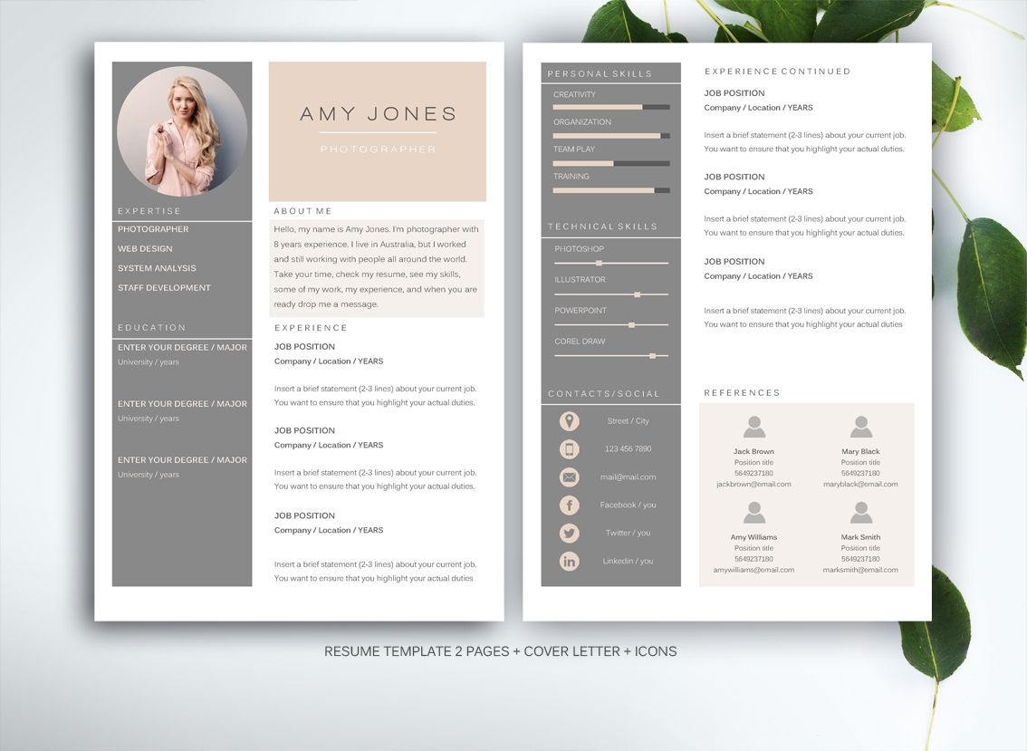 well designed resume examples for your inspiration graphic design templates creative Resume Creative Market Resume Free