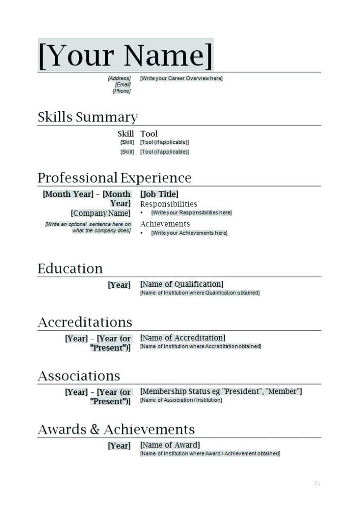 word document resume template colesthecolossusco printable acting downloadable outline Resume Resume Outline Word Document