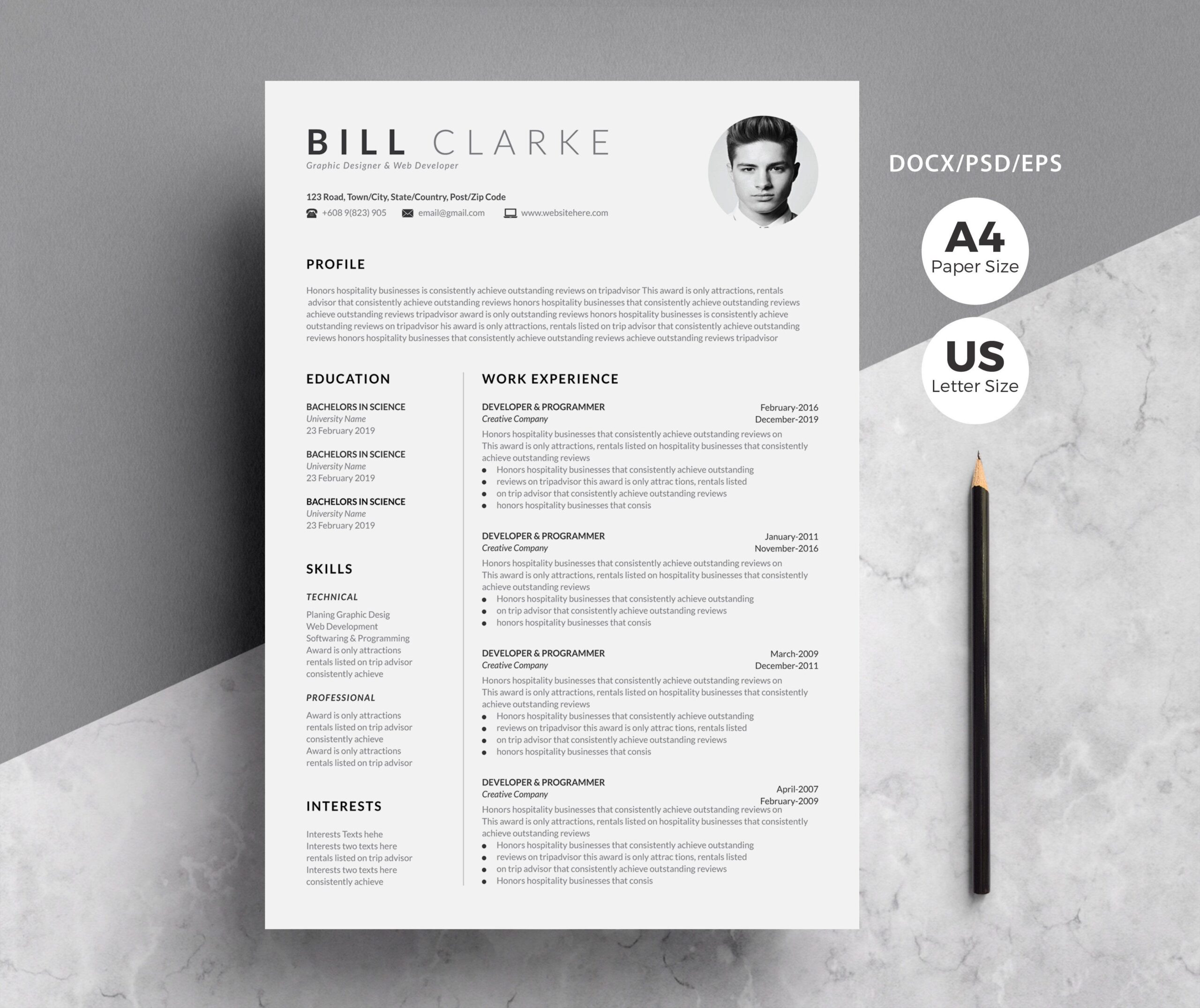 word resume cover letter for creative templates template paper size and application basic Resume Paper Size For Resume And Application Letter