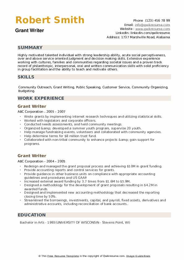 writer resume samples qwikresume sample for manager pdf format color free blank templates Resume Sample Resume For Grant Manager