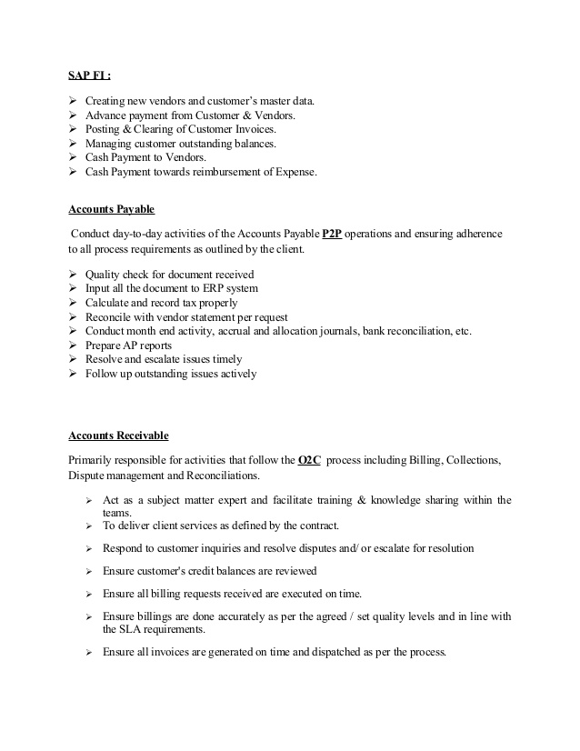 years sap accounts finance resume receivable index of product management skills for Resume Sap Accounts Receivable Resume