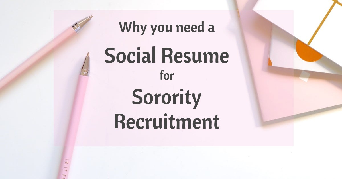 you need social resume for sorority recruitment totally tailgates template sewing Resume Sorority Social Resume Template
