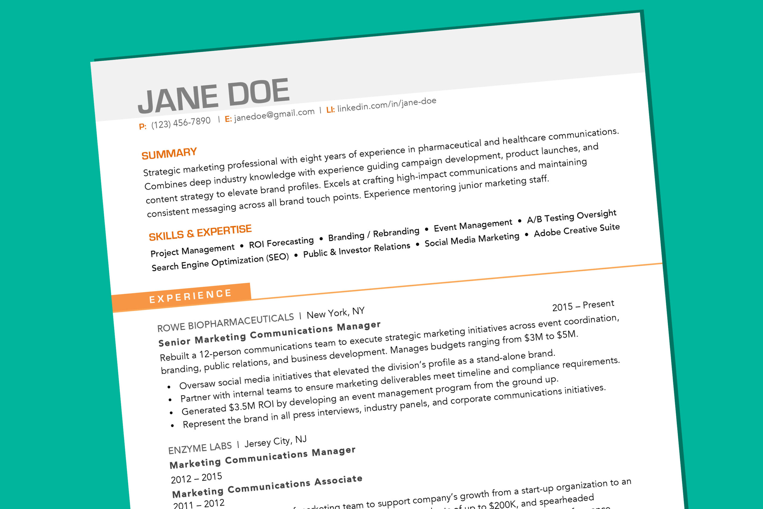 your resume should look like in money best format for senior clinical research Resume Best Format For Resume 2020