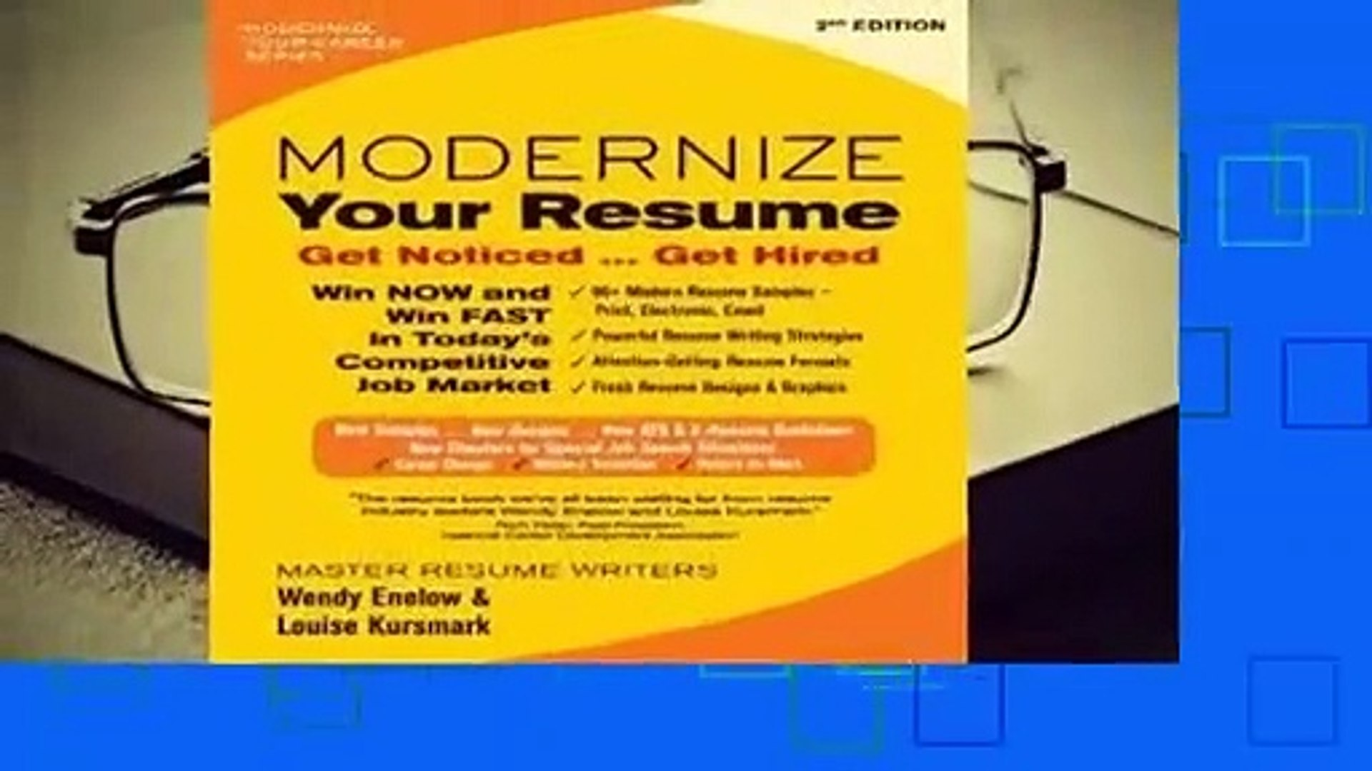 about for books modernize your resume get noticed hired complete dailymotion free maker Resume Modernize Your Resume Get Noticed Get Hired