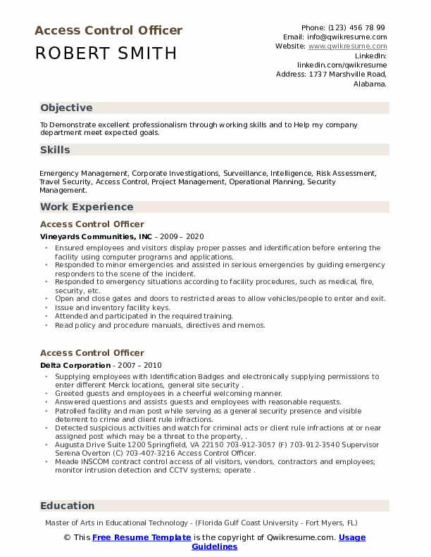 access control officer resume samples qwikresume security pdf portfolio style bloomberg Resume Security Access Control Resume