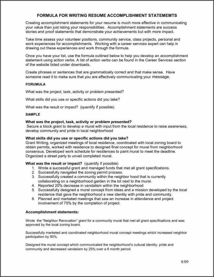 accomplishments resume are indeed important part of any resumes you make from the Resume Special Accomplishments On Resume